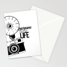 Photography is Life Stationery Cards