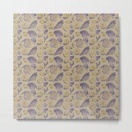 Shells and Shells Metal Print