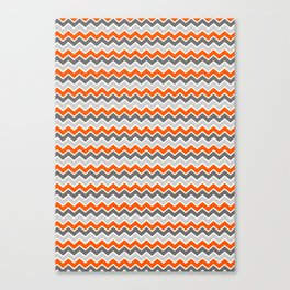 Zig Zag Crazy Canvas Print