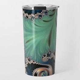 Azure - Fractal Art Travel Mug