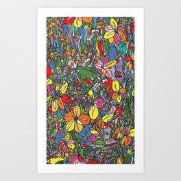 Piranha Art Print