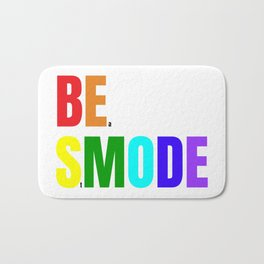 Be Smode! - #Beastmode - Fitness Inspiration Bath Mat