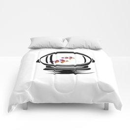Astronaut Helmet Aquarium T Shirt Fish Tank Clownfish Gift Comforters