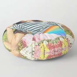 Internal Rainbow II Floor Pillow