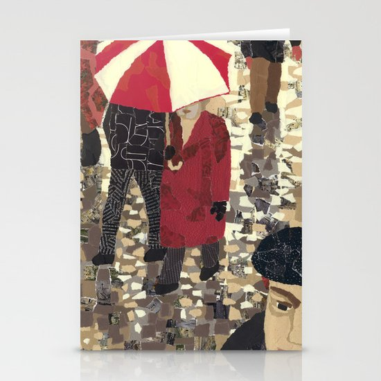 Bad weather (Mauvais temps) Stationery Cards