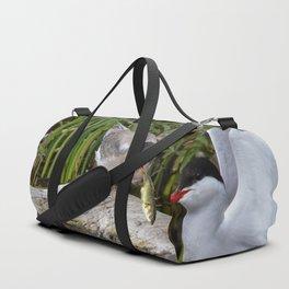 Baby Arctic Tern Feeding Duffle Bag