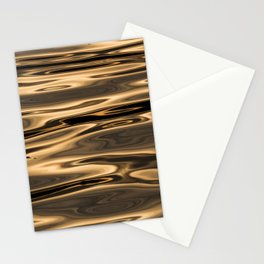 Golden River - Minimalst Photograph Stationery Cards