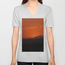 Calliope Sunset - Queensland Unisex V-Neck