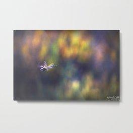 Dragon Fly Blur Metal Print