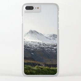 Vintage Mountain 29 Clear iPhone Case