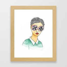 Mind Tricks Framed Art Print