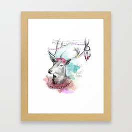 Love what you are Framed Art Print