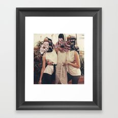 Two Mucho Make Up Framed Art Print