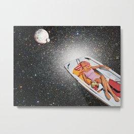 Cosmic Float Metal Print