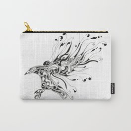 Liquid Crow Black Carry-All Pouch