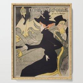 Henri Toulouse Lautrec / Divan Japonais Serving Tray