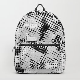 Abstract 66 urban texture Backpack