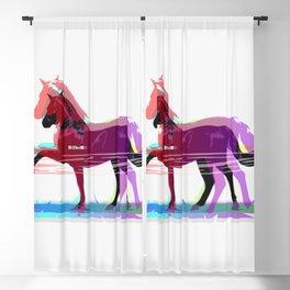 Powerful Horse Blackout Curtain