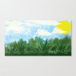 Digital Landscape Canvas Print