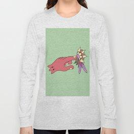 Picking flowers 3 Long Sleeve T-shirt