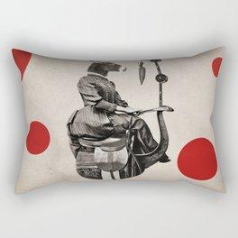 Anthropomorphic N°15 Rectangular Pillow
