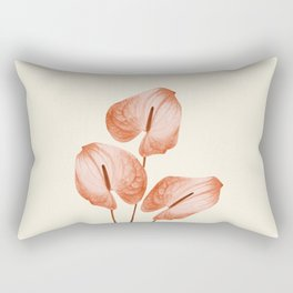 Anthurium - Anthurie - Flamingo Flower Rectangular Pillow