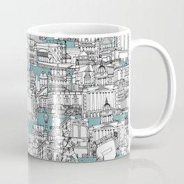 NOTTINGHAM BLUE Coffee Mug