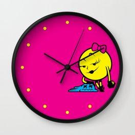 Ms. Pac-Man Wall Clock