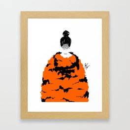 TIGER FUR Framed Art Print