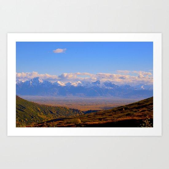 Palmer Valley - 4 Maddy Art Print