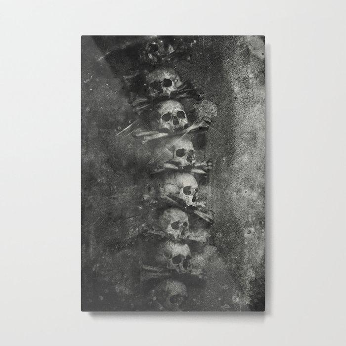 Once Were Warriors III. Metal Print