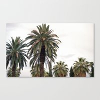 palms Canvas Prints featuring PALMS by N A T