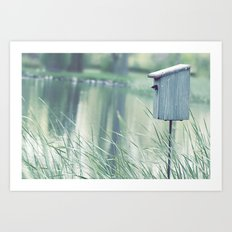 {Swallow House} Art Print