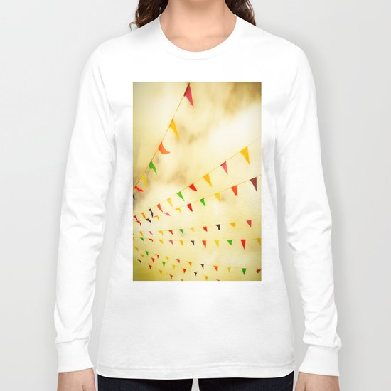 Flags & Color Long Sleeve T-shirt