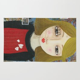 If You Can Dream It, Mixed Media Artwork Rug