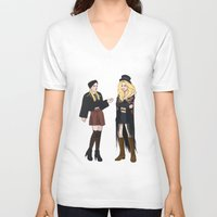 gypsy V-neck T-shirts featuring Gypsy by Mannequin