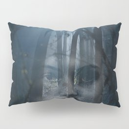 Portrait in the forest Pillow Sham