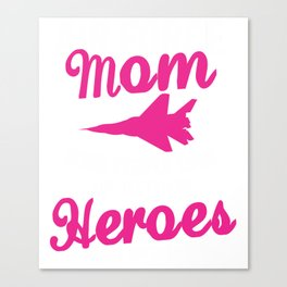 Air Force Mom Canvas Print