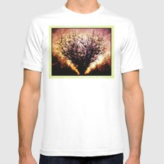 Tree of Love Mens Fitted Tee White MEDIUM