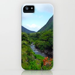 Iao Valley iPhone Case