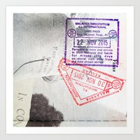 Malaysian Immigration Art Print