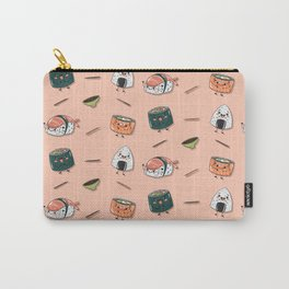 Cute sushi pattern Carry-All Pouch