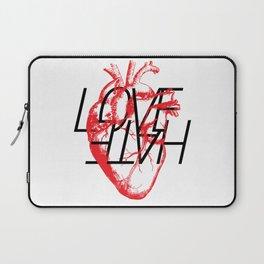 LOVE  –VS– HATE Laptop Sleeve