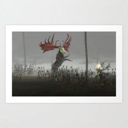 The Endless Forest - BZD Art Print