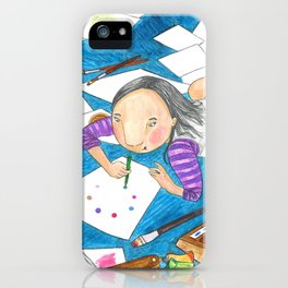 Believe in yourself - Art Explosion iPhone Case