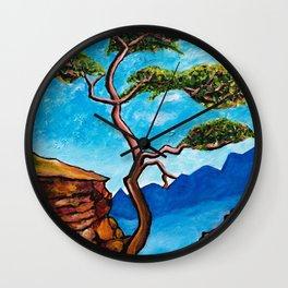 Cypress Tree Wall Clock