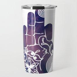 Purple Haze Mudra Travel Mug