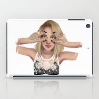 coachella iPad Cases featuring Coachella Mood by Judit Mallol