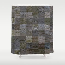 Bark Tiles Shower Curtain