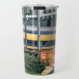 Commuter Train Travel Mug